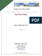 Ch8 Sheet Piling