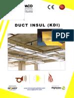 Kimmco Duct Insul Kdi
