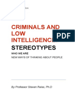 Criminals and Low Intelligence