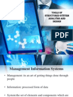 Tools of Structured System Analysis and Design