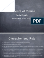 elements of drama year 11
