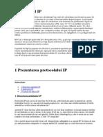 1 Clase de adrese IP. Mască de reţea.
