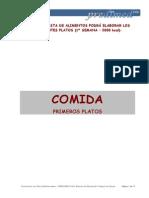 II PP13 PV Recetas Semana 1 2000kcal