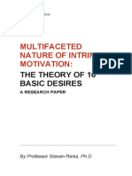 Multifaceted Nature of Intrinsic Motivation