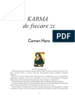 Carmen Harra Karma de Fiecare Zi