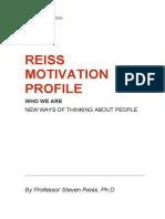 Reiss Motivation Profile (Summary)