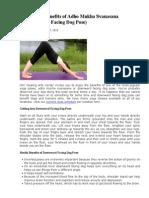 ABCD Yogasanas & Benifits