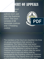 The Court of Appeals Jurisdiction