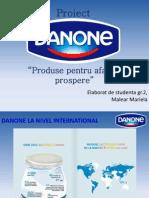 Proiect Danone