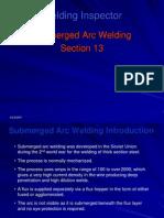 13 Submerged Arc Welding