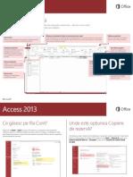 2.1. Office 2013 - Ghid de pornire rapidă Access 2013