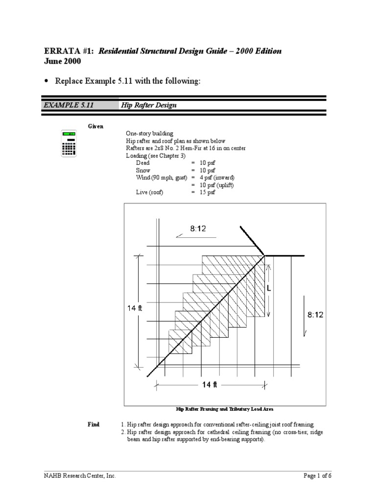 Residential Structural Design Guide_ 2000 Edition | Framing ...