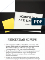 Korupsi Dan Anti Korupsi