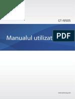 Galaxy S4 User-Manual GT I9505 Jellybean Romanian 20130429