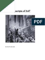The Transcripts of Evil
