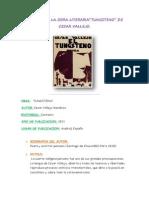 Analisis Sociologico de La Obra Literaria