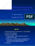 CChu Green Energy Workshop 2012 Website