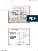 RC2 Lecture 3.1 - Design of Two-Way Floor Slab System