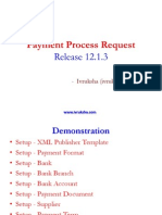 R12.1.3 Payment Process Request