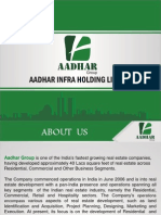 Aadhar Group coming with its new Commercial Project at Greater Noida (West)