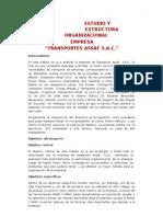 Estudio y Estructura Organizacional