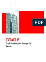 DIS DeveloperDayDataIntegration Keynote Oct12