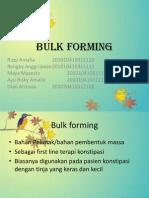 Bulk Forming