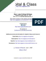 Capital & Class 1997 Articles 155 6
