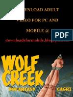 Cagri - Wolf Creek