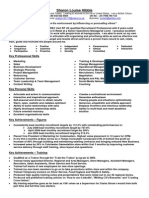 sharon hibble recruitment training resume