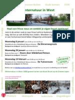 Westernatuur  Groene Loper ontdekkingstochten door Rotterdam West