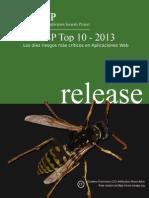 OWASP Top 10 - 2013 - Español