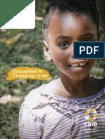 CARE Zambia Annual Report 2012-2013