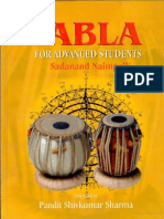 Tabla, For Advanced Students