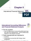 Ch05 Int Fin Analysis