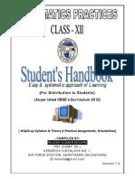 Informatics Practice Handbook-Class XII-CBSE