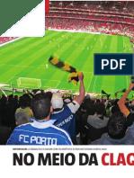 No meio da claque do FC Porto