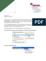 ETI d.d. Product Database Import Instructions