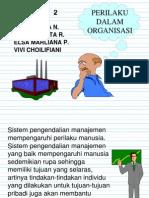 Perilaku Dalam Organisasi Bab 31