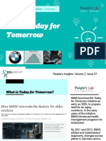 BMW Today for Tomorrow - People's Insights Volume 2, Issue 37