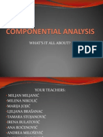 Componential Analysis