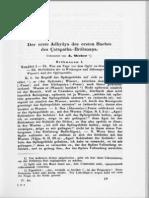 01 Weber Der Erste Adhyaya Des Ersten Buches Des Satapatha-Brahmana