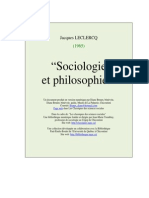 Socio Et Philo