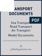 INTERNATIONAL TRANSPORT DOCUMENT