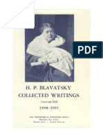 H.P. Blavatsky  Collected Writings - VOLUME XIII (1890-1891)