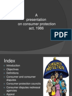 Consumer Protection Act3rd Sem