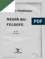 Heidegger Nedir Bu Felsefe