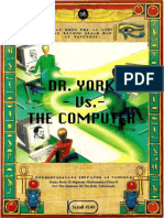 Dr York vs the Computer by Dr Malachi Z York