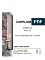 Channel Access in Depth 1 Up