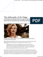 Philosophy of the higgs